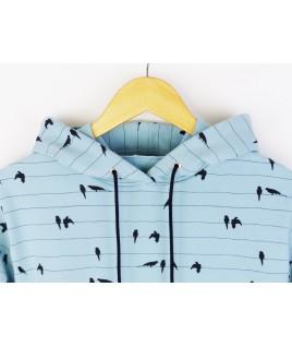 Le motif à oiseaux est très joli, un thème printanier