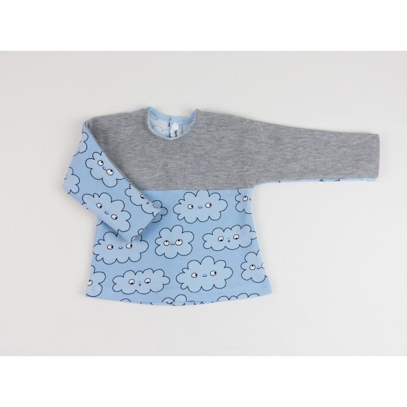 Le pull bio pour bébé, tout doux et bien chaud