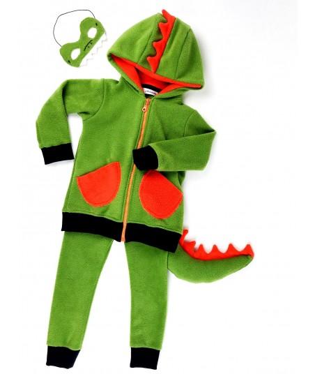 Le déguisement de dinosaure