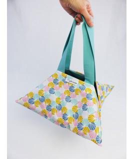 Le sac à tarte et ses anses pour le transporter facilement