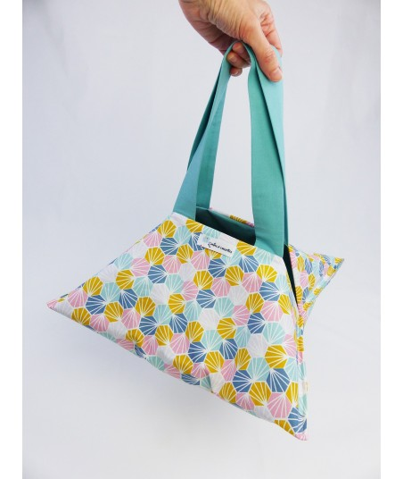 Le sac à tarte Origami