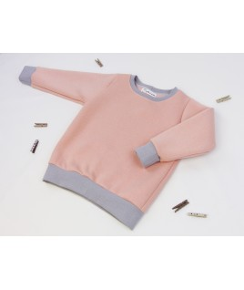 Le joli sweat rose à paillettes