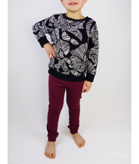 Le petit sweat Winter Flowers