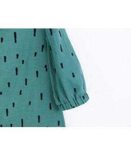 En tissu bio, cette blouse écolo est idéale pour une démarche slow fashion