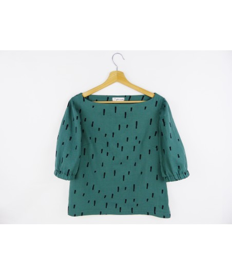 La blouse Green Forest