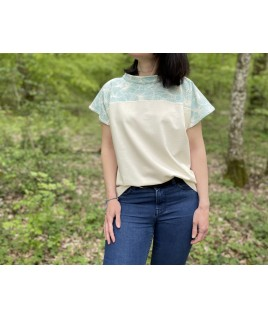 Très confortable pour partir en balade, ce t-shirt est également très élégant
