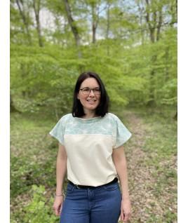 Le tshirt pour femme aux teintes du printemps